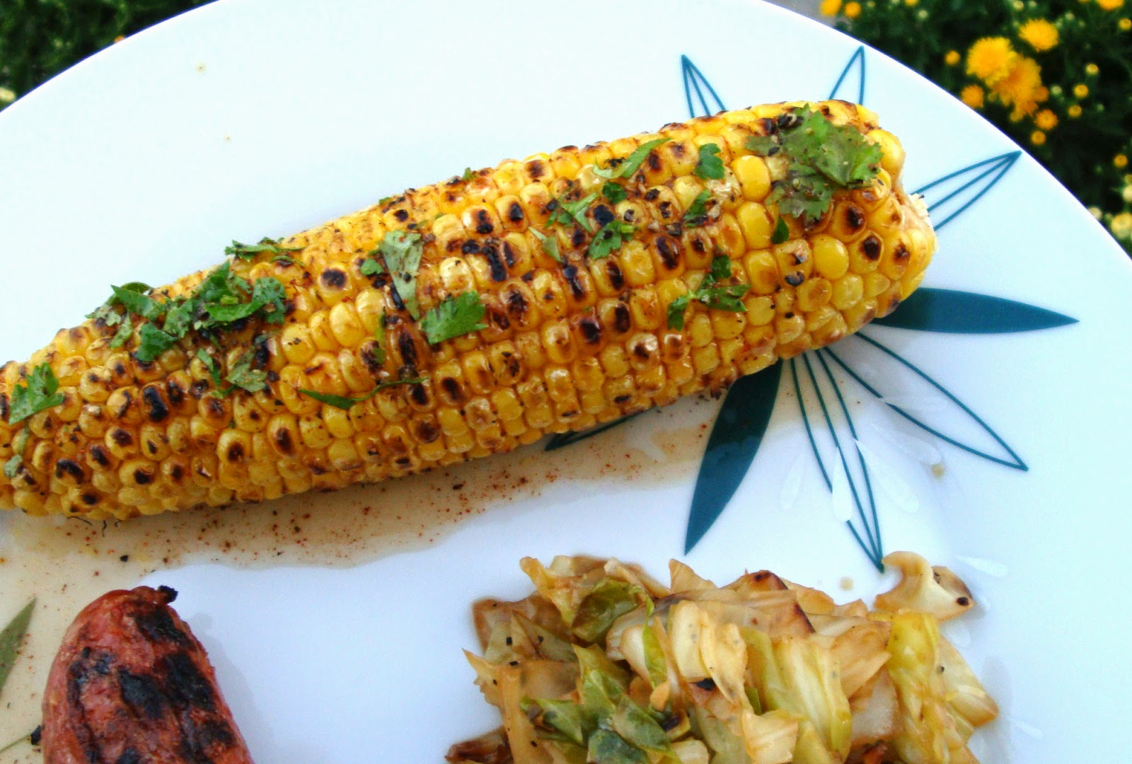 Fire-Grilled Chili Lime Corn Cobs Recipe — Dishmaps