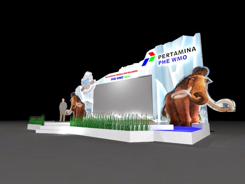 stage and decoration Pertamina INexpo Design | Kontraktor Pameran