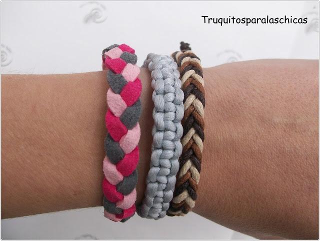 pulseras con colores