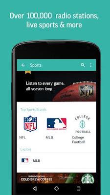 TuneIn Radio 14.5 APK for Android Terbaru
