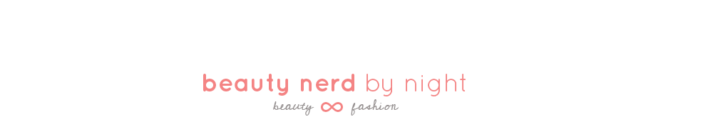 Beauty Nerd By Night, a Malaysian Beauty Blog