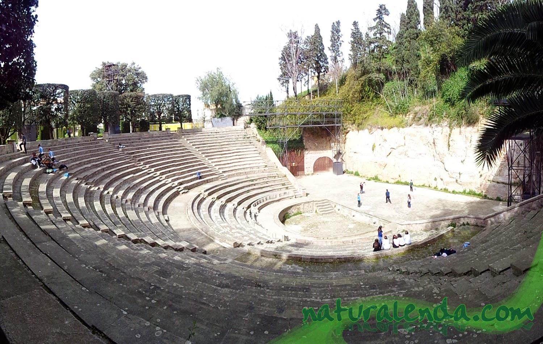 anfiteatro griego barcelona