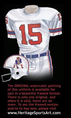New England Patriots 1976 uniform