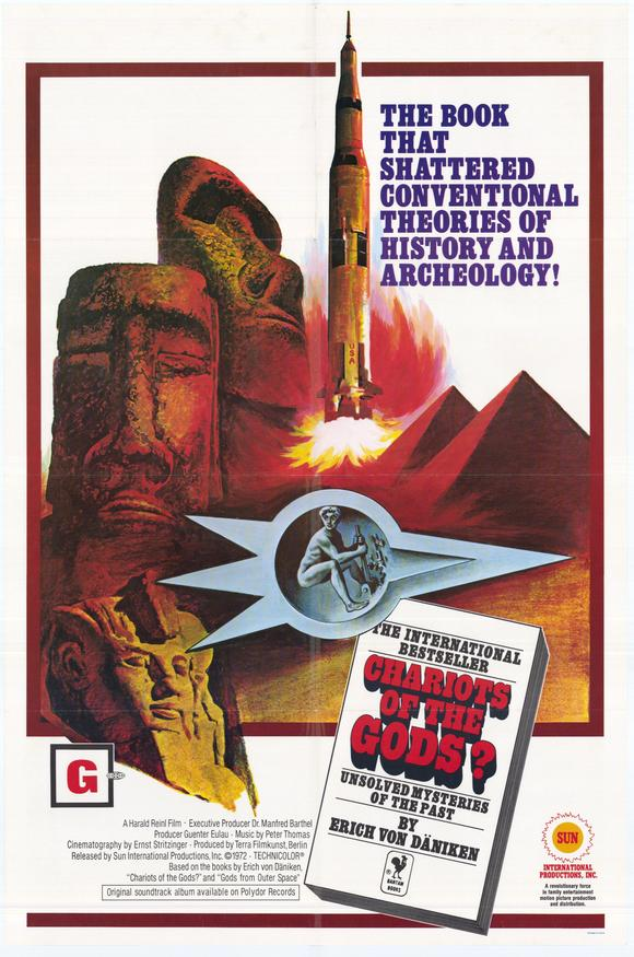 The Outer Space Connection Every 70s Movie Chariots of the Gods 1970 The Outer Space