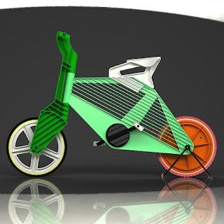 Bicicleta de Plastico Reciclado