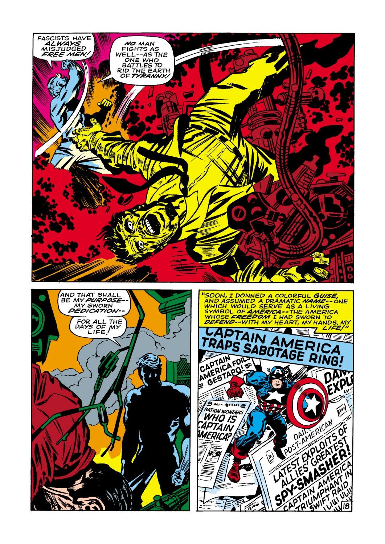 Captain America (1968) Issue #109 #23 - English 19
