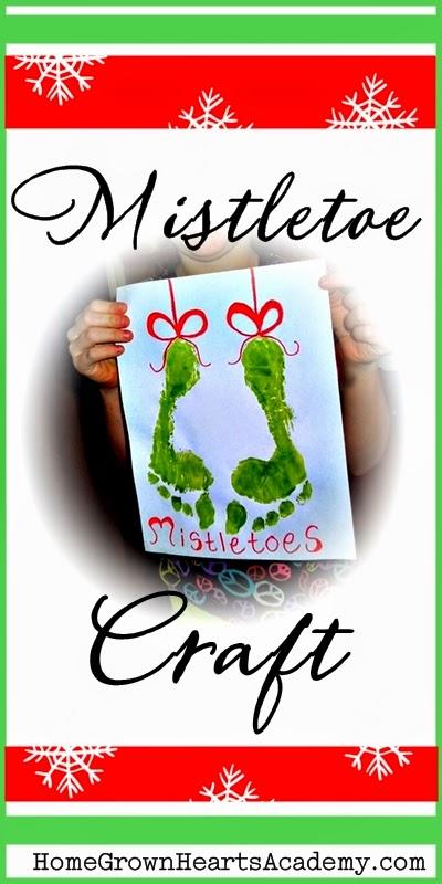 Mistletoe craft