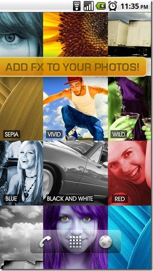 PhotoWall Live Wallpaper Get Amazed With Your Android3
