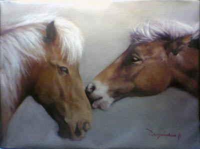 Lukisan kuda,lukisan kepala kuda,lukisan kuda jantan,lukisan binatang,lukisan karya toto sukatma,lukisan lam,lukisan binatang