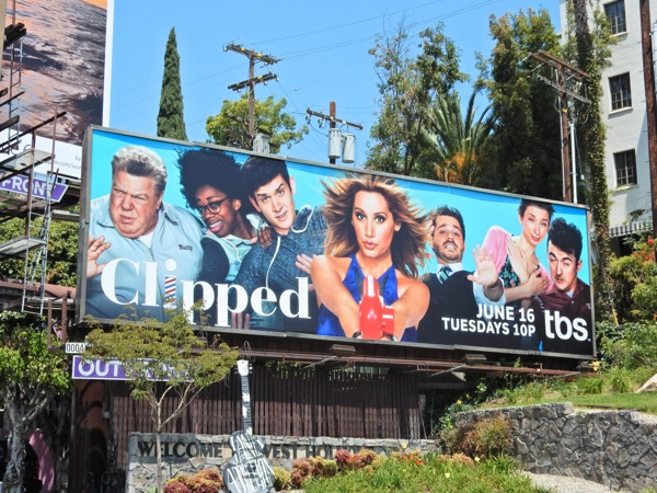 Clipped series premiere billboard