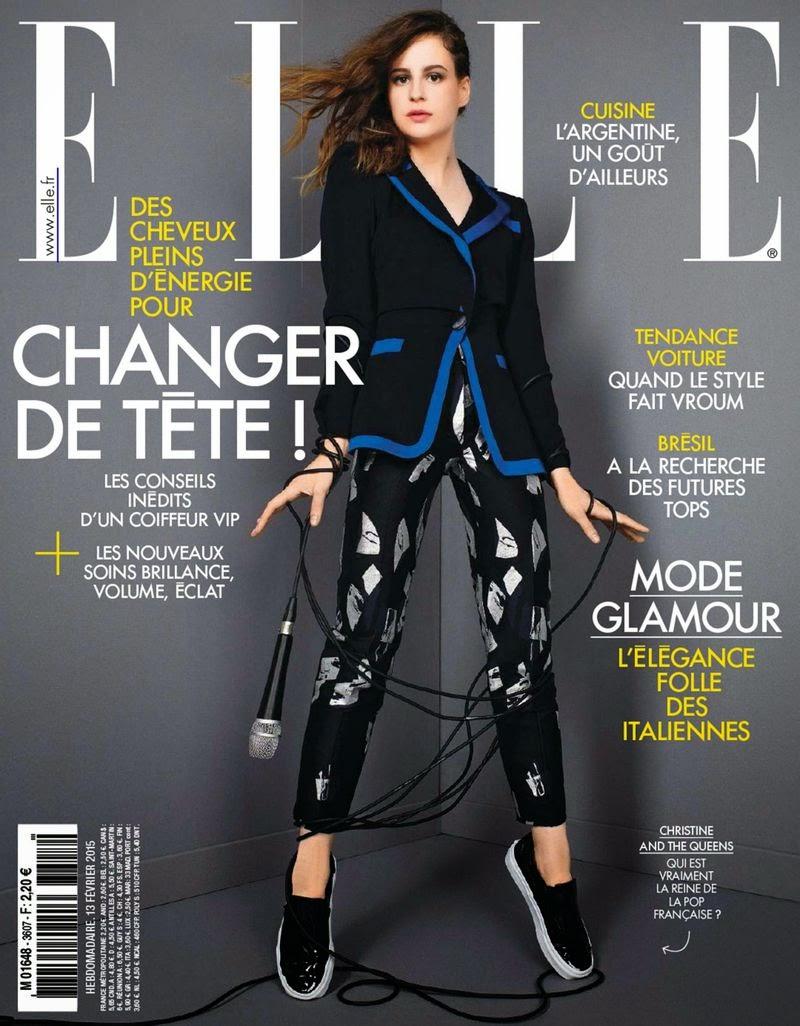 Singer-Songwriter: Heloise Letissier - Elle France