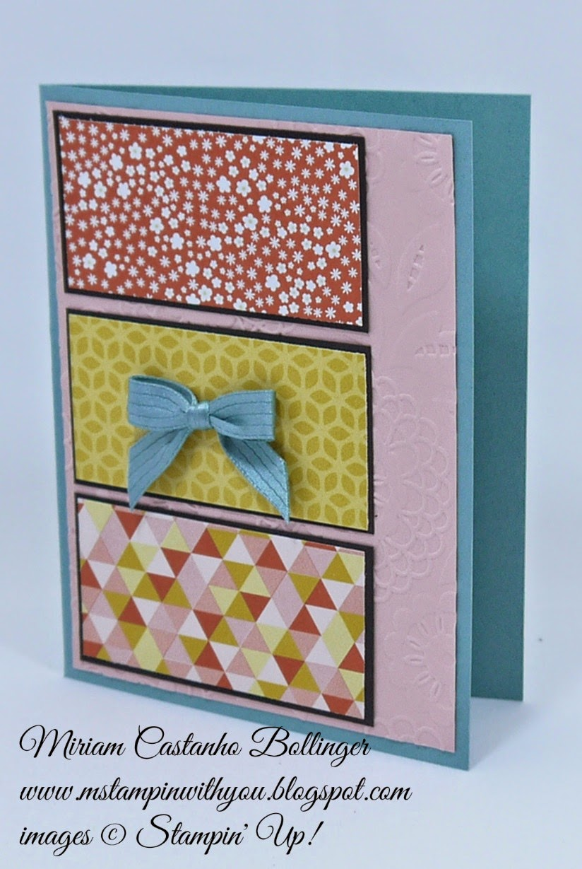 Miriam Castanho Bollinger, mstampinwithyou, stampin up, demonstrator, fusion, flower pot dsp, texture boutique machine, lovely lace tief, su