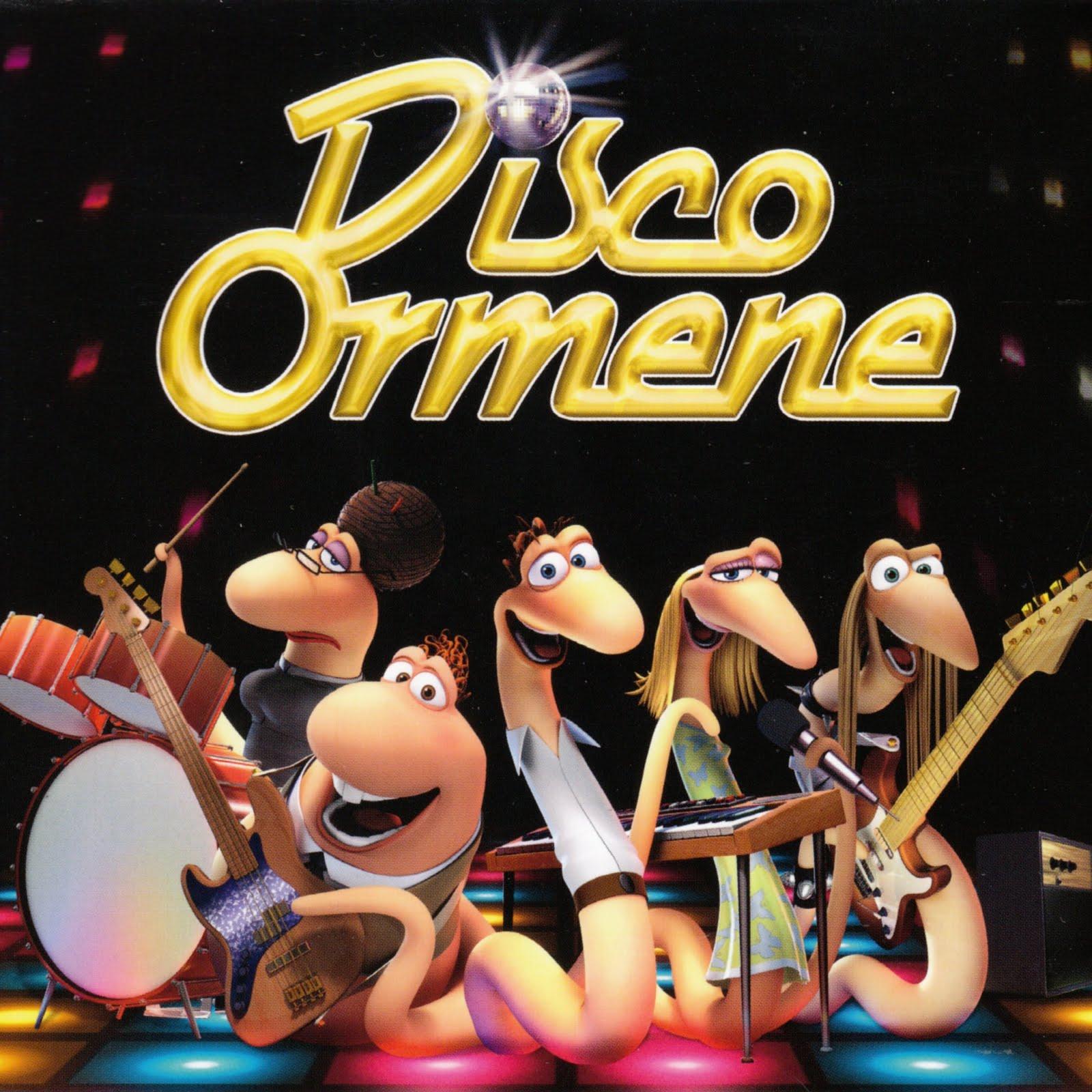 Baixar CD Barry e a Banda das Minhocas   Disco Ormene (2008)