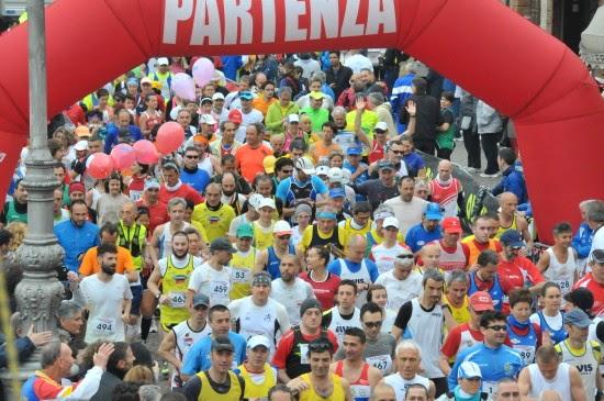 Partenza Maratona