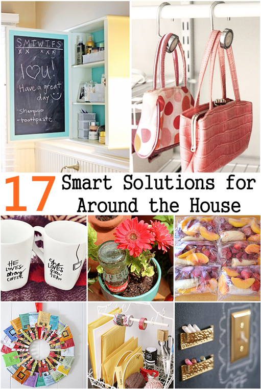 17 smart diy solutions for around the house diy craft for Diy crafts with things around the house