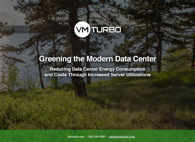 VMTURBO - Greening the Modern Data Center