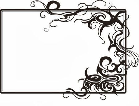 terbaru Gambar Bingkai Hitam Putih Untuk Presentasi Power Point ...