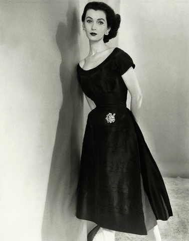 Wonderful Classic Little Black Dress Lace Skirt Dress