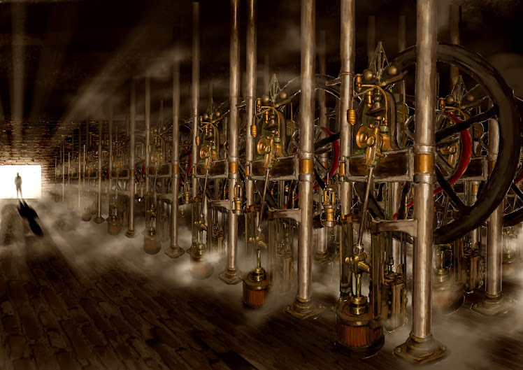 The Difference Engine - Engine Room