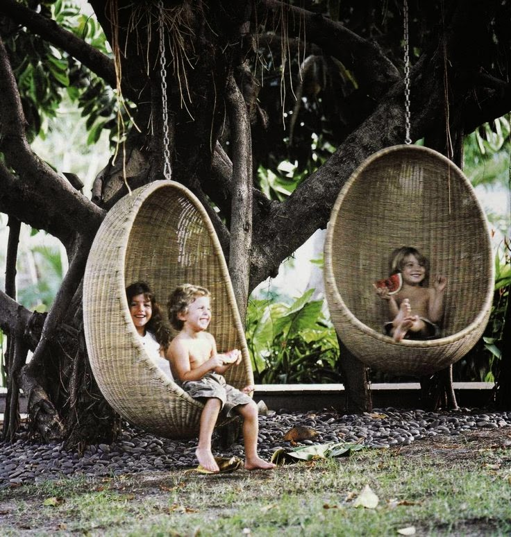 Dacon Design/blog /Egg swing chair nanna and jorgen ditzel