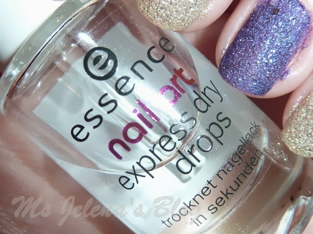 Review essence nail art express dry drops ms jelenas blog the nail polishes on my nails are opi liquid sand in my favorite ornament gold and cant let go purple i know the liquid sand isnt the best nail prinsesfo Images