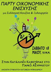 πάρτυ οικονομικής ενίσχυσης κουζίνας & ξυλουργείου