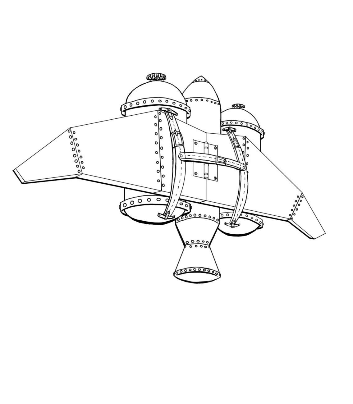 sketchbookery  jetpack prop design