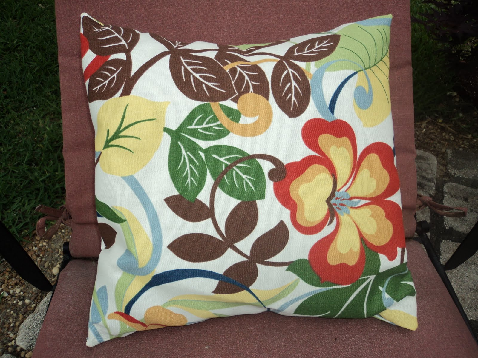 Yay Home!: Outdoor Pillow Cover
