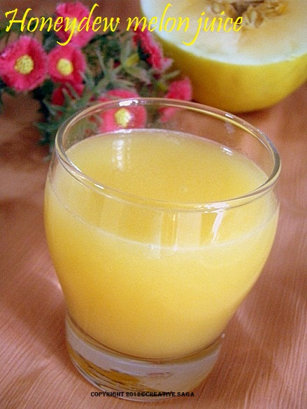honeydew melon juice recipe