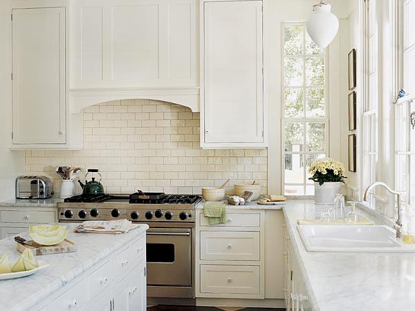 Kleines Gelbes Haus: Metroflair In Der Küche