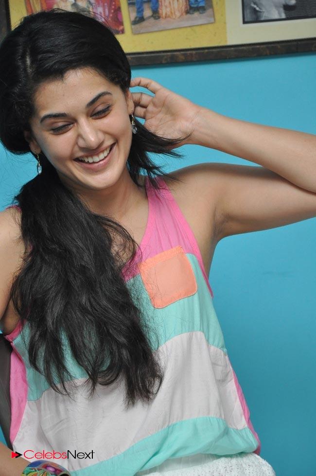 Tapsee Pannu Latest Photos Sleeveless Short Dress Celebsnext Telugu Actres Thunder