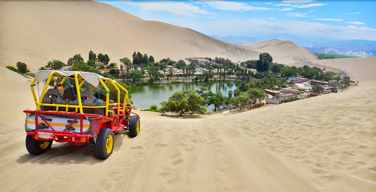 Curiosidades, la laguna de Huacachina