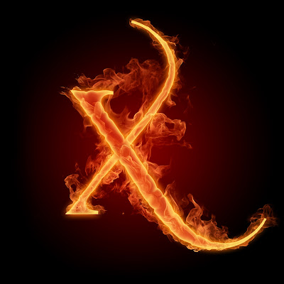 Alfabet dengan Elemen Api - digaleri.com