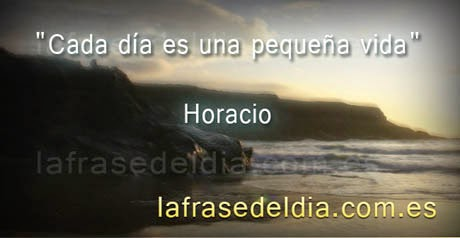 Frases de Horacio - Mensajes para empezar a vivir