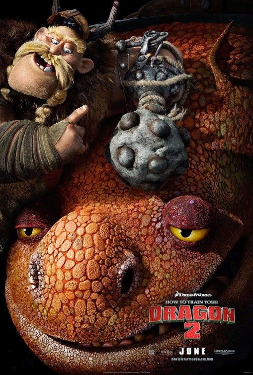 trailer and poster of how to train your dragon 2 teaser