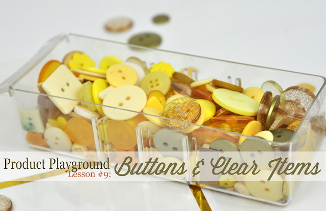 Product Playground Lesson 9: Adding Clear Items and Buttons to a Scrapbooking Layout. Found here: http://www.bigpictureclasses.com/classes/product-playground-buttons-clear-items #scrapbooking