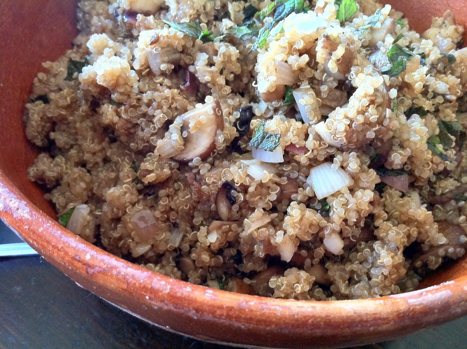 Quinoa Risotto Recipe — Dishmaps