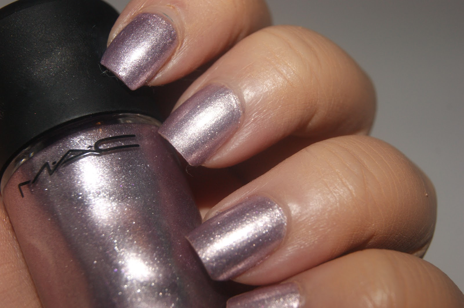 MAC Nail Lacquer in Girl Trouble - Review | The Sunday Girl