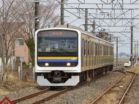 成田線 209系