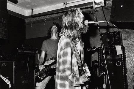 Nirvana Kurt Cobain Krist Novoselic live 1989 Bleach Seattle grunge