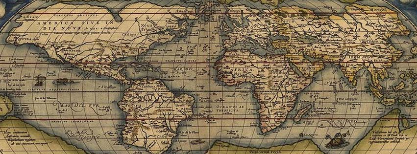 Facebook cover photos ortelius world map 1570 ortelius world map 1570 click above for larger image the exact size of facebook cover photo gumiabroncs