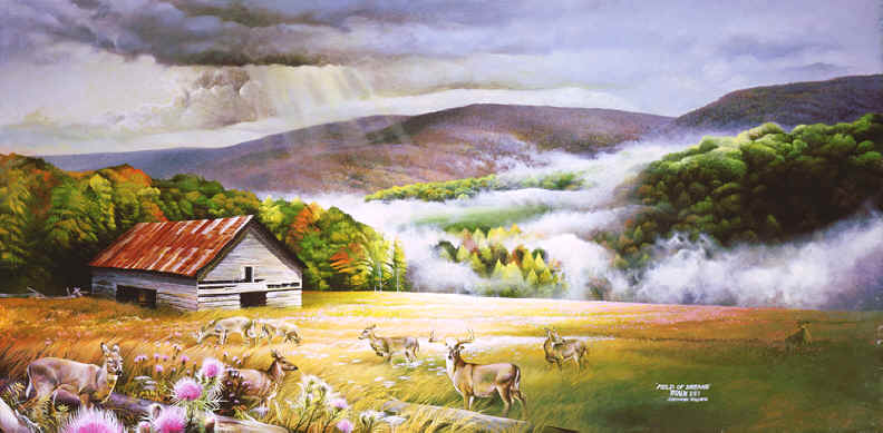 One Of The Most Popular Forms Art Is That A Landscape Painting