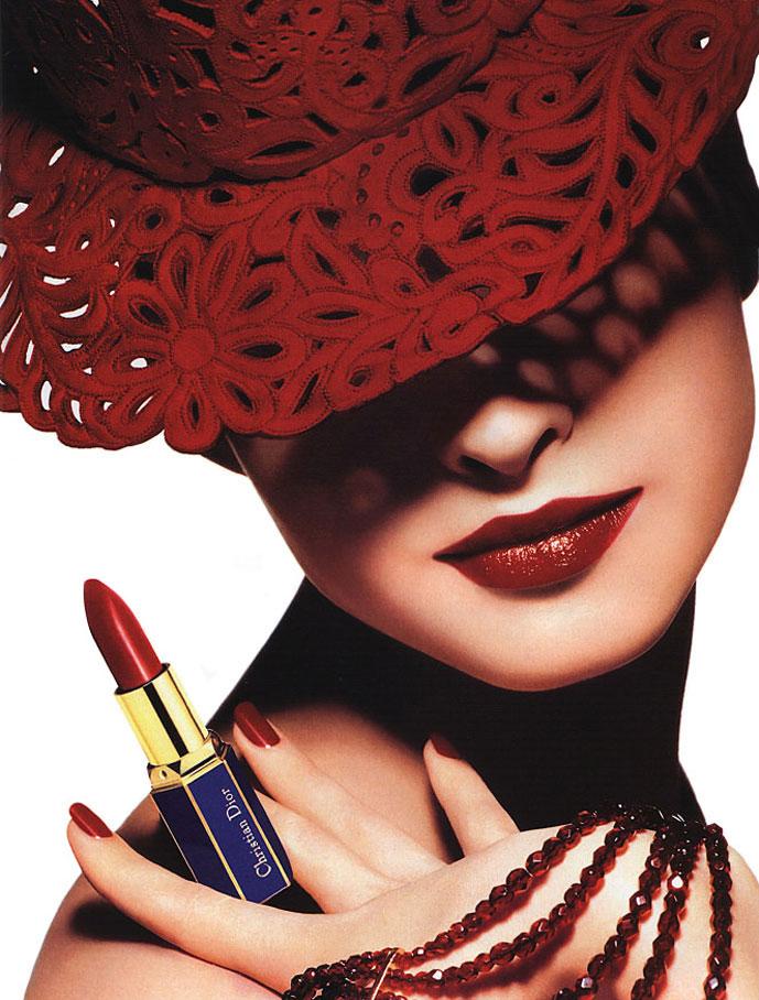 Kristina Semenovskaya in Christian Dior Beauty campaign