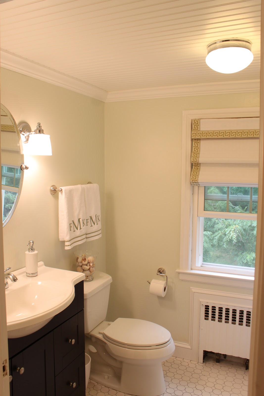 Green Street: Our Newly Renovated Bathroom