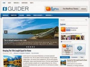 Guider - Free Wordpress Theme