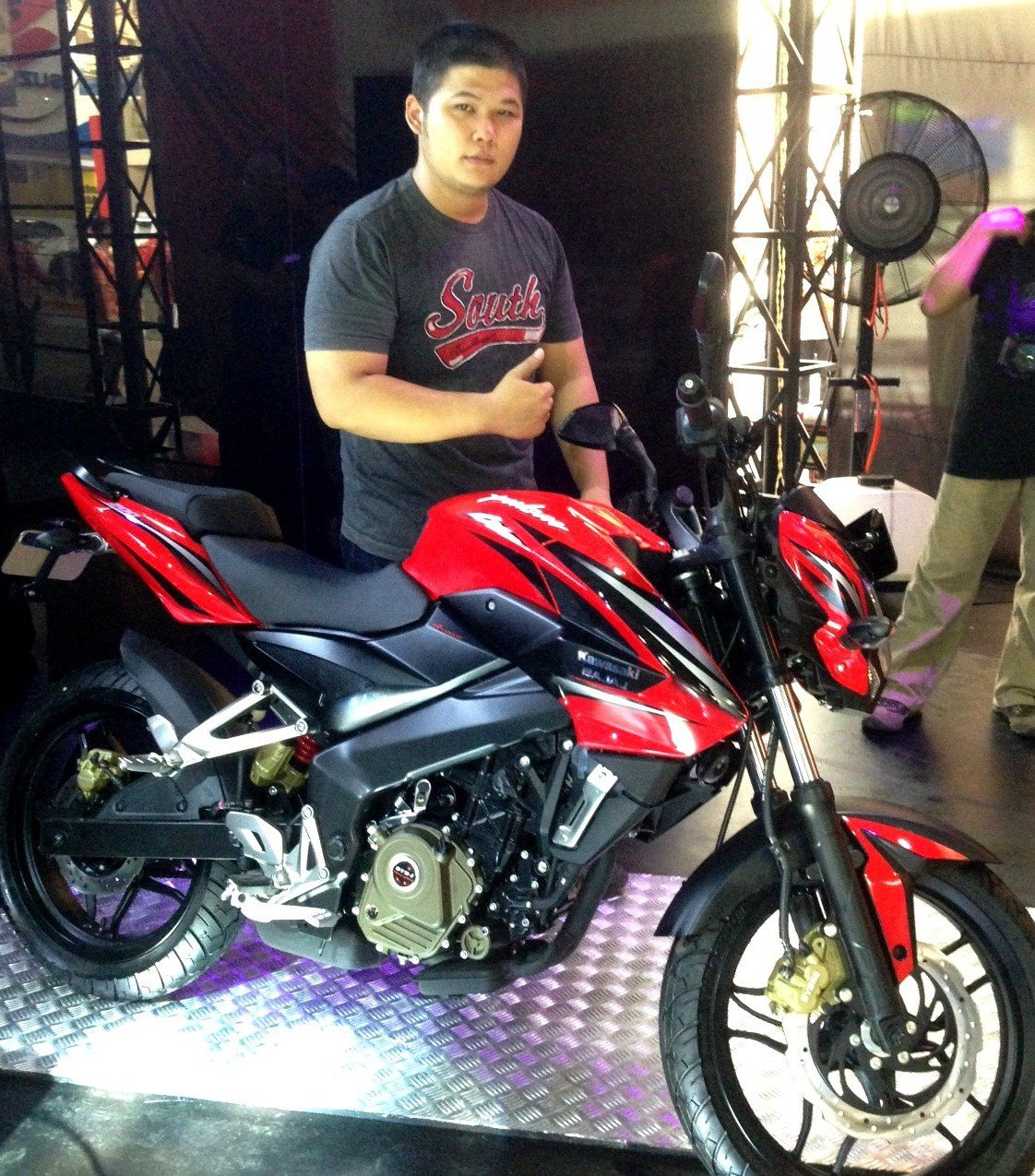 Kawasaki Bajaj   Pulsar 200NS Officially Unveiled in Indonesia