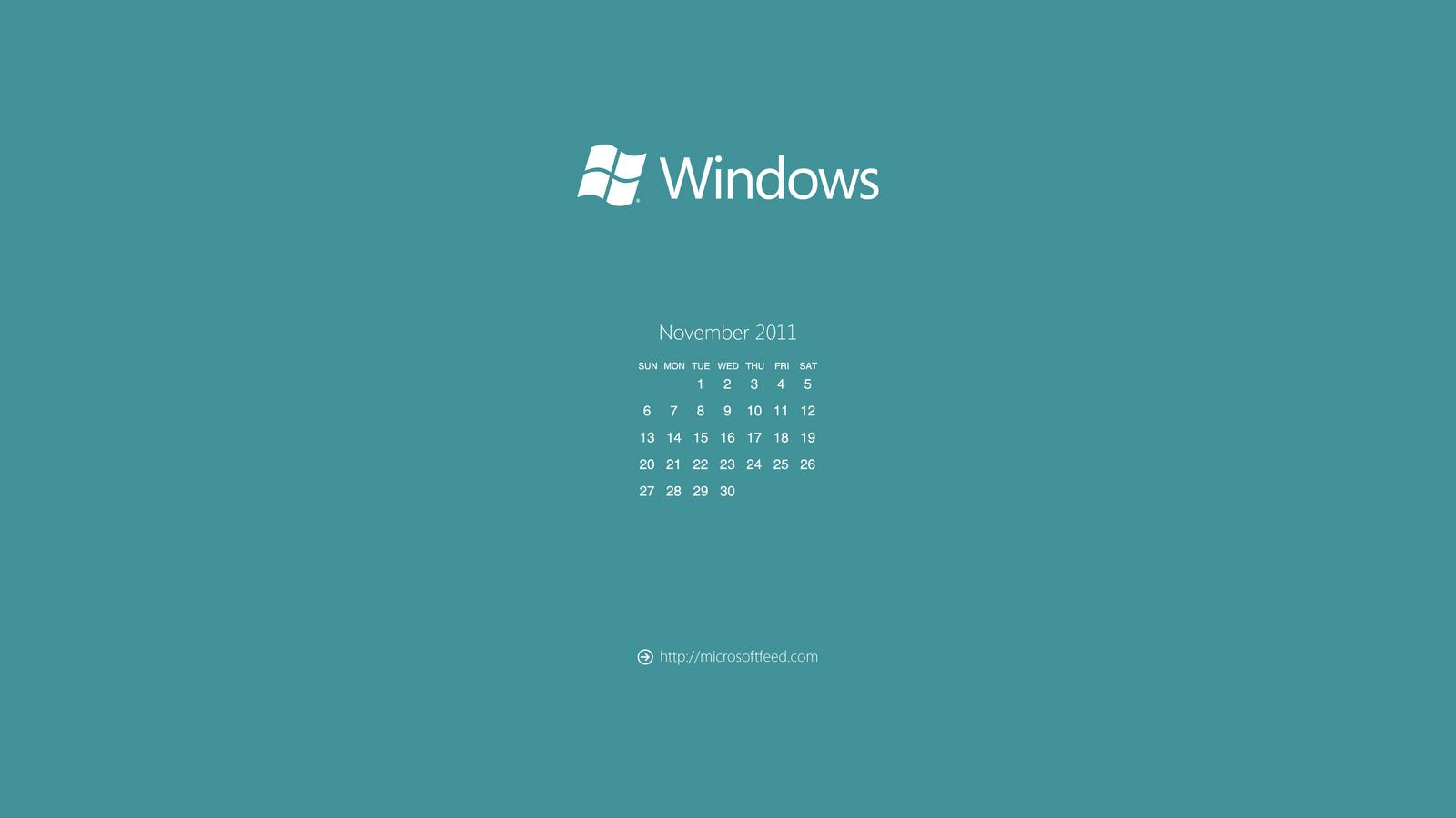 Calendar Wallpaper For Windows : Pin metro style desktop wallpaper calendar february