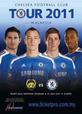 Malaysia XI Vs Chelsea – Chelsea Asia Tour 2011