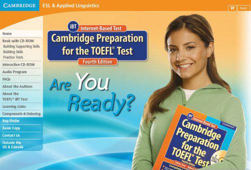 Cambridge preparation for the TOEFL test - Internet Archive