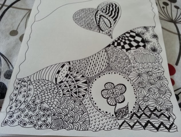 Life 39 s little treasures zentangle draw your heart out for Cartoons to draw when your bored